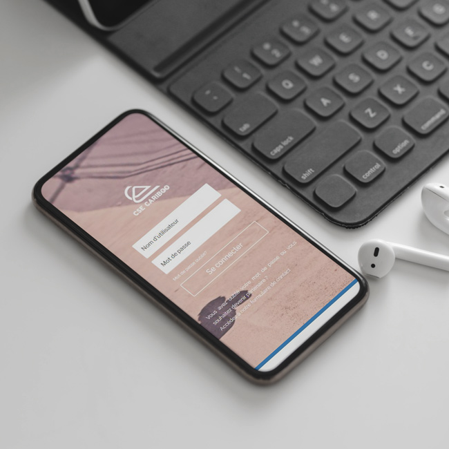 application mobile pour un cse